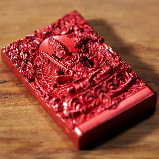 School (6a) * Omamori blessed by monks, Kyoto * With deity