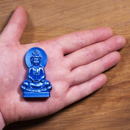 Deseo (3a) * Omamori bendecido por monjes, Kyoto * Con deidad