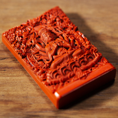 Desire (5b) * Omamori blessed by monks, Kyoto * With deity