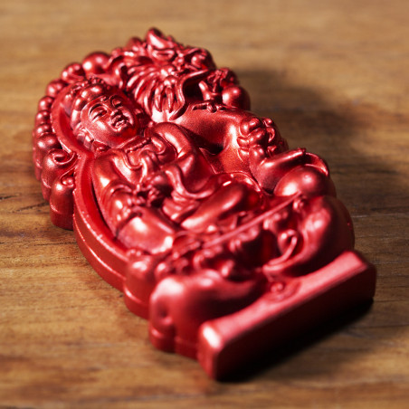 Deseo (10c) * Omamori bendecido por monjes, Kyoto * Con deidad