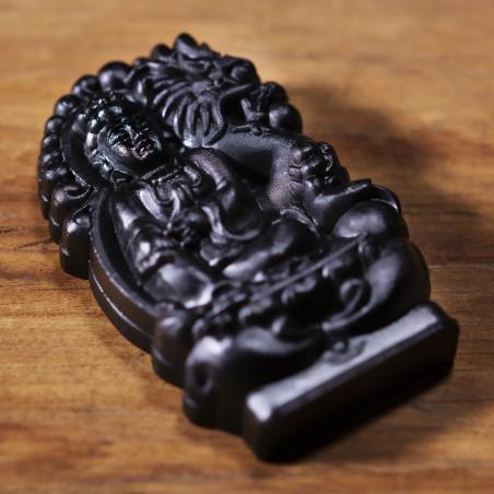 Desiderio (10d) * Omamori benedetto da monaci, Kyoto * Con divinità