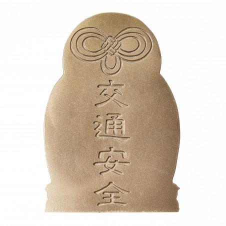 Traffico (5c) * Omamori benedetto da monaci, Kyoto * Con divinità