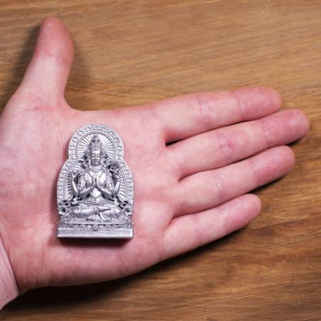 Traffico (10b) * Omamori benedetto da monaci, Kyoto * Con divinità