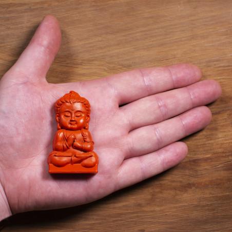 Protección (7a) * Omamori bendecido por monjes, Kyoto * Con deidad