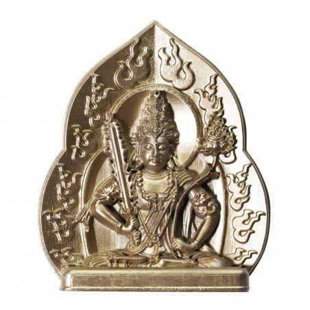 Protection (9a) * Omamori béni par les moines, Kyoto * Avec divinité