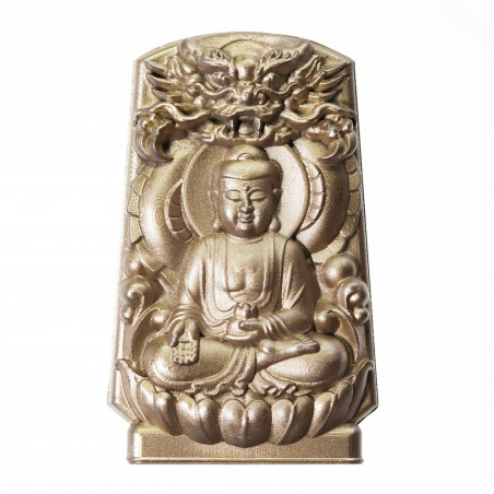 Protection (10a) * Omamori blessed by monks, Kyoto * With deity
